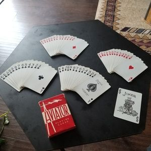 Vintage Bicycle 808 Playing Cards